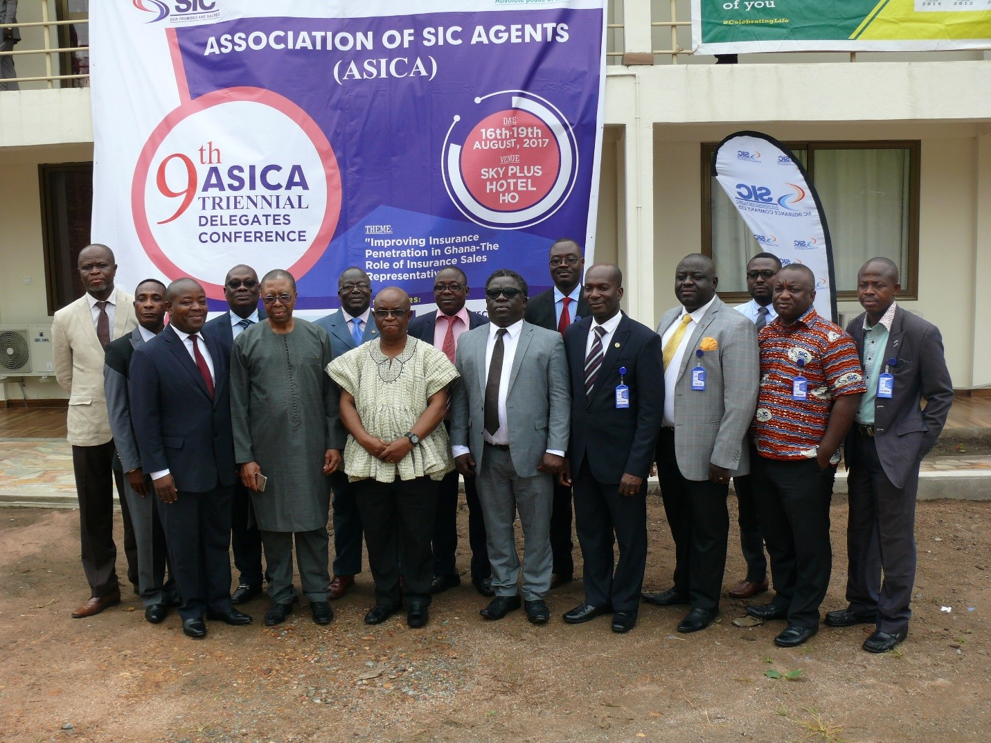 Volta Regional Minister Commends Agents of SIC Insurance and SIC Life
