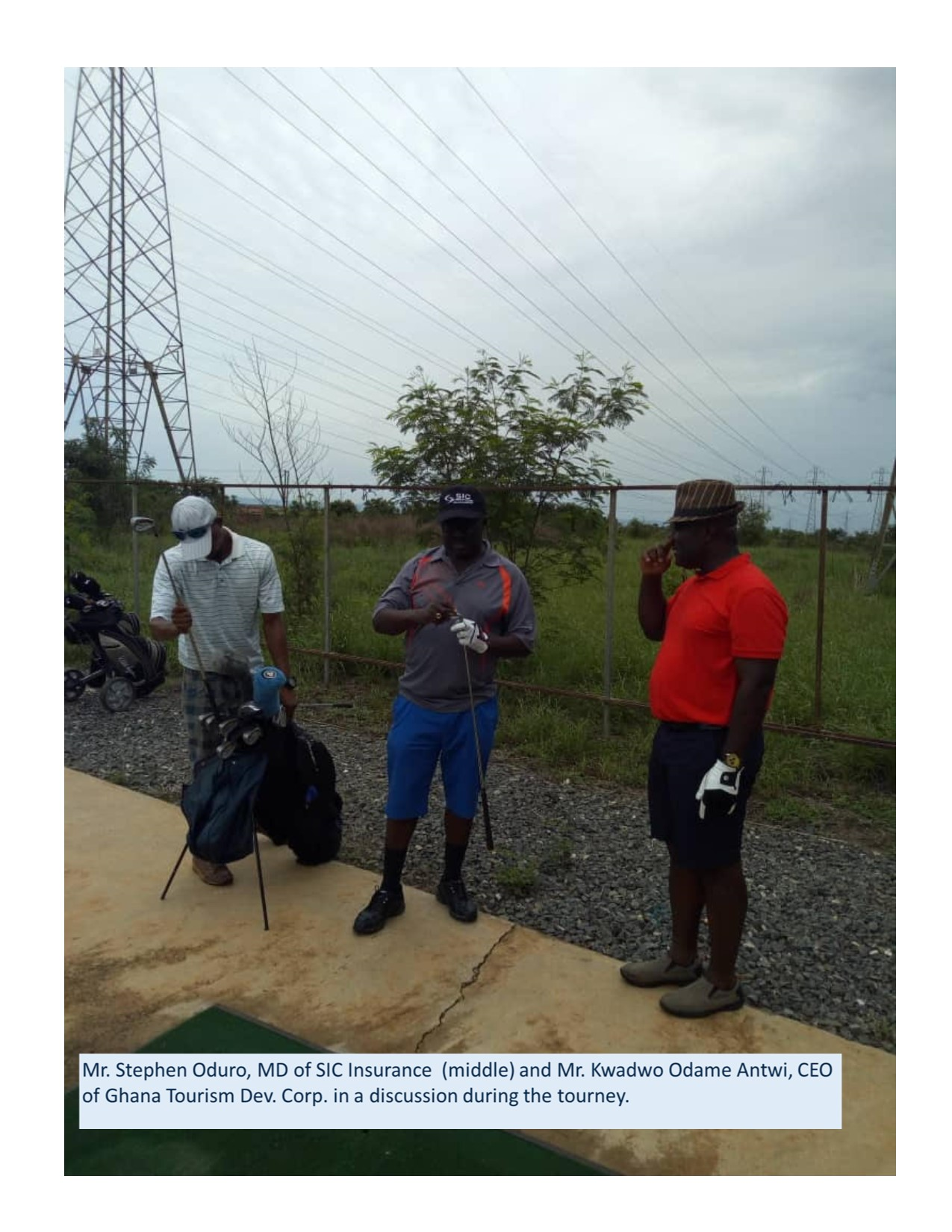 SIC Insurance/Ghana Tourism Development Corporation holds 1st 'Centre of the World' golf tourney at Tema