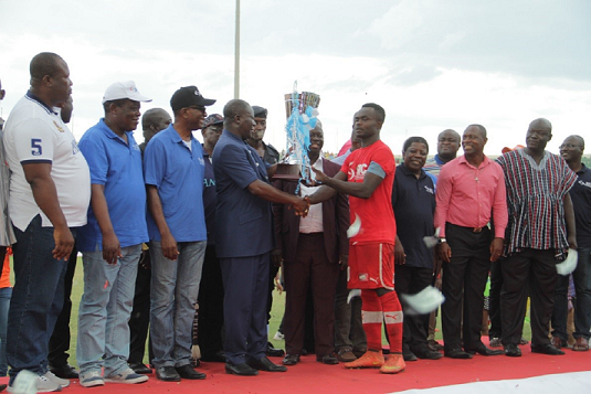 Kotoko Lifts New SIC Insurance Trophy